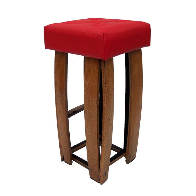 Groovy 10 X Pub Bar Bistro Stools Leather Rectangular Red Black Pdpeps Interior Chair Design Pdpepsorg